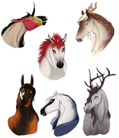 Your Horse Here ALL SOLD by Emii-M