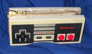 NES controller wallet by Ormspryde