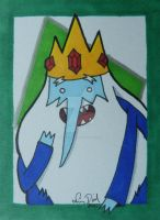 AT- Ice King ACEO card by LadyNin-Chan