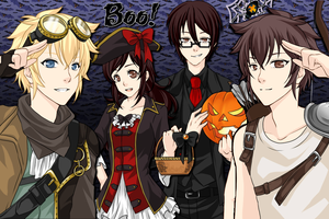 The Crew - Halloween by AnimeVampireFan
