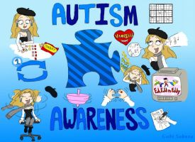 Autism Awareness by GabiSaKuRa