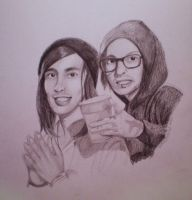 vic and mike fuentes. by CaptainJankyface