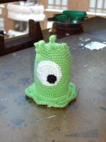 Crochet brain slug by neferush