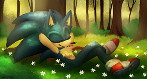 Time To Relax + speedpaint by shadzter