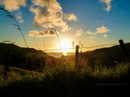 A New Zealand Sunset by MaxK-W