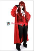Black Butler Grell Sutcliff Cosplay Costume by miccostumes