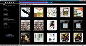 Foobar2000 with an Album Browser by starterz