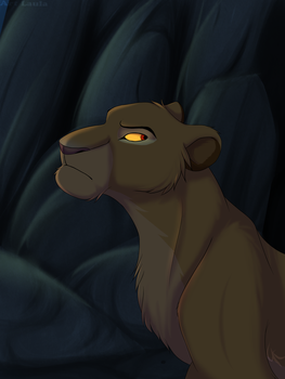 You're not my king, Scar! by Leila-artist