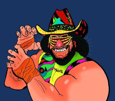 Macho Man by Makinita