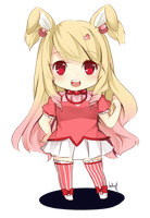PC [2/2] : Mitsukobunny-chan by Chiirionne