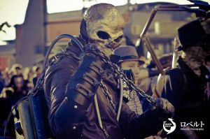 Seampunk GhostRider by andresfcp