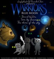 Blue Moon Poster by Streamwhisker
