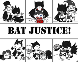 Bat Justice by HerosSanguin