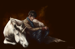 Merlin - Unicorn by MaddiOrchard