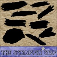 ScrappinCop Paintstroke CSH by debh945