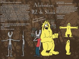 Alabaster: RZ and Slook by Hexaditidom