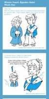 Winter Court Doodles 02 by Koshindou