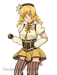 Mami Tomoe (Redraw) by TheApatheticKat