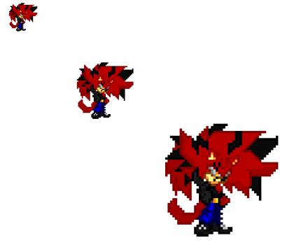 Nitro 3.0 sprite by nitrothehedgehog20