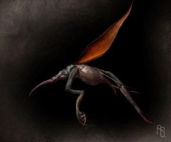 Alien Insect by aaronsimscompany