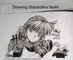 Manga Tips 1 :: Faces by WickedJuti