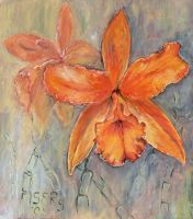 Orange Nugget by DoodleWithGlueGun