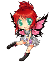 CM -Thistle the Punk Fairy by Desiree-U