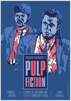 Pulp Fiction - Movie Poster by rekening