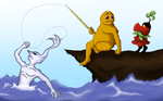 Goron Fishin' by TeenTitansMan