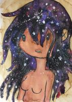Galaxy Hair Due by NobodiesHeartless45