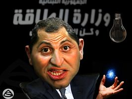 Caricature Gebran Bassil by asendos