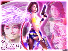 Yuna x2 pink wing by LoveLoki