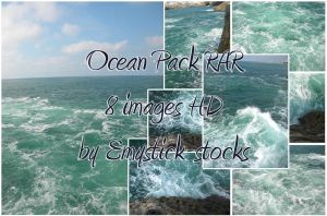 Ocean Pack 01 by Emystick-stocks