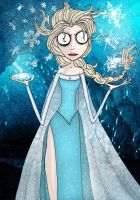 Elsa-Ice Queen by ScorpionsKissx