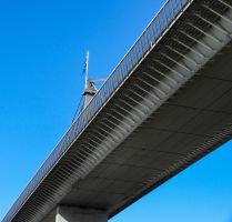 View from (under) a bridge by tessavance