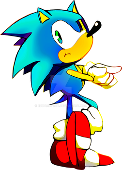 Sonic is Waiting by EdwardTCat