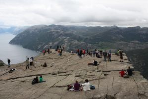 Preikestolen, Norway by Hildemarie