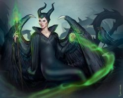 Maleficent by pop-lee