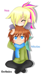 Prize: Nea and Nikolas 1/2 by Enthriex