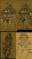 Captain America plus sketches by MarkMoore
