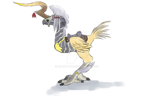 Ixion Chocobo Barding by Drawtaru