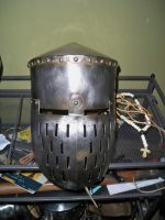 12th century Topfhelm by Conall-Taixali