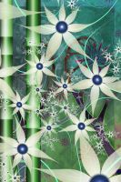 WoodMoss Fractal Circles 12 by timemit