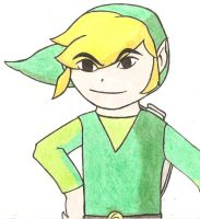 Link the boy by roxas-n-knux-luver