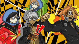 9 X Persona 4 - Time to Reach Out to the Truth by theREDspy