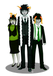 MafiaBound Greenbloods by MiseryGk