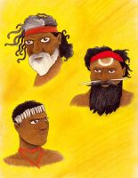 Indigenous Australians by syxx