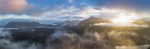 Cloudy World Panorama by shutterphoenix