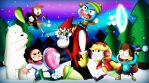 Cartoon Network and Disney Snowball Fight by xeternalflamebryx