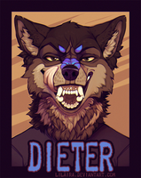 Badge for Dieter by LiLaiRa